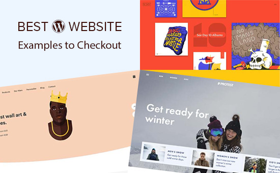 Excellent WordPress Website Examples That You Should Check Out in 2018