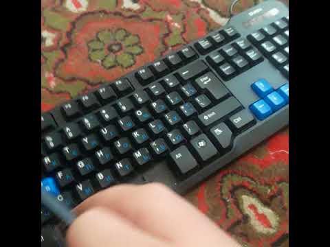 Как вставить пробел в Клавиатуру.