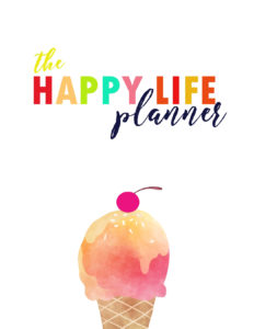 The Happy Life Planner 2019 - page 2
