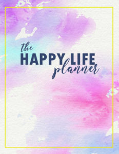 The Happy Life Planner 2019 - page 3