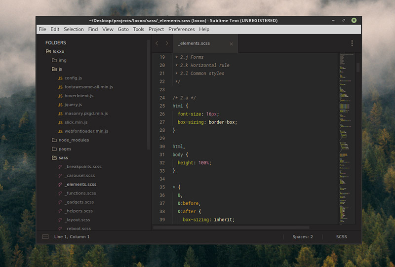 Gruvbox Theme for Sublime Text