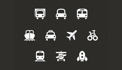 Symbolicons: Transportation