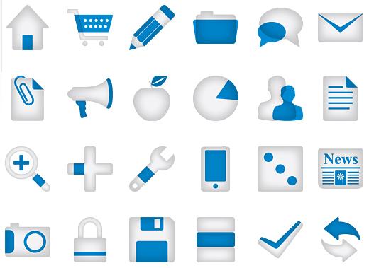 Minimalistica Icon Set