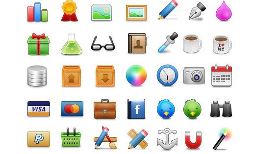 48 pixels web iconset