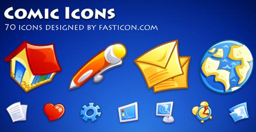 Comic Icons