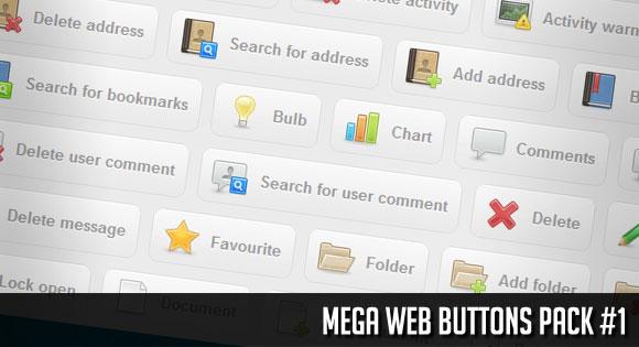 Mega Web Buttons